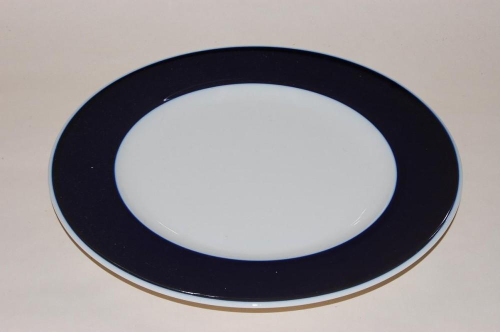 kuchenteller 19 5cm secunda kobalt variation rosenthal porzellan nach herstellern rosenthal. Black Bedroom Furniture Sets. Home Design Ideas