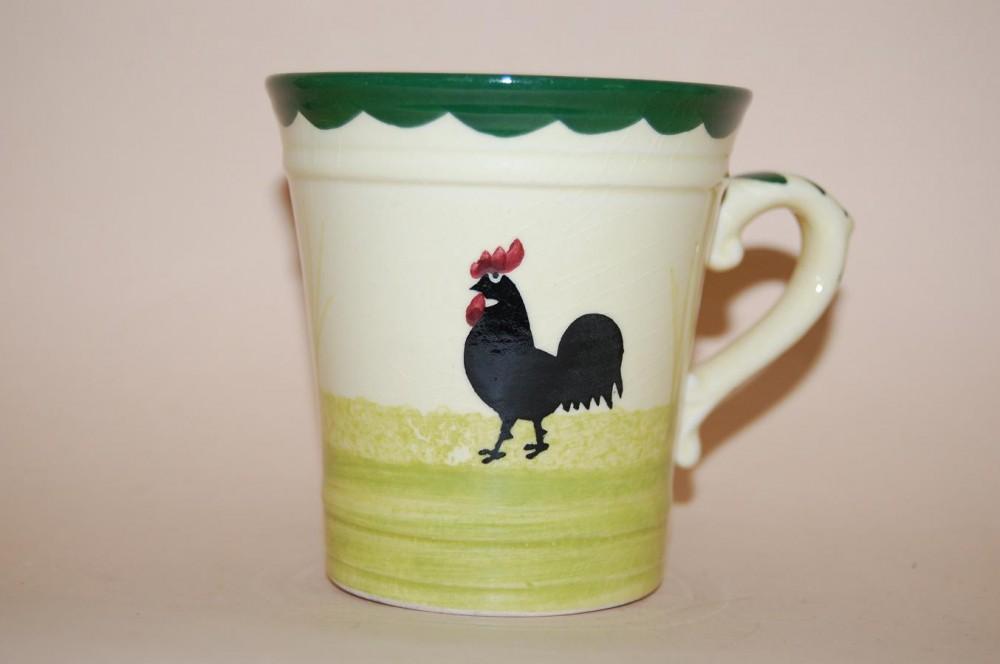 kaffeetasse hoch kaffeebecher 8 3 8 8cm hahn henne zeller keramik porzellan nach herstellern. Black Bedroom Furniture Sets. Home Design Ideas