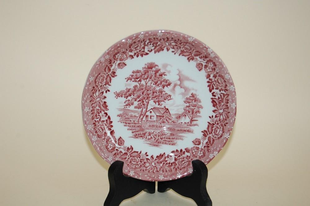 untertasse kaf 14 3cm country style rot grindley staffordshire england porzellan nach. Black Bedroom Furniture Sets. Home Design Ideas