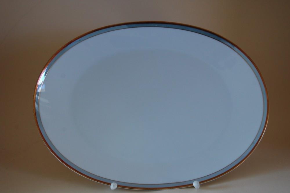 servierplatte platte 33 24cm form 2000 gala blau gold rosenthal porzellan nach herstellern. Black Bedroom Furniture Sets. Home Design Ideas
